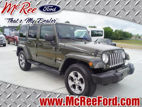 2016 Jeep Wrangler Unlimited for sale in Dickinson, TX