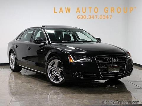 2013 Audi A8 L for sale in Bensenville, IL