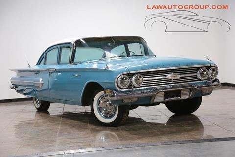 1960 Chevrolet Bel Air For Sale In Bensenville, IL