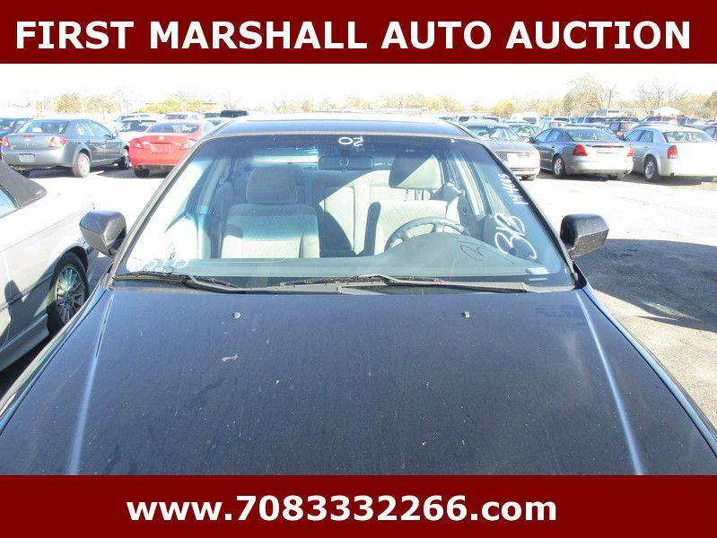 2002 honda accord se 4dr sedan in harvey il first marshall auto auction. Black Bedroom Furniture Sets. Home Design Ideas