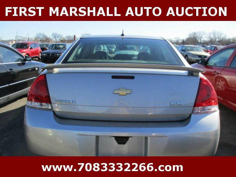 2008 chevrolet impala in harvey il first marshall auto auction. Black Bedroom Furniture Sets. Home Design Ideas