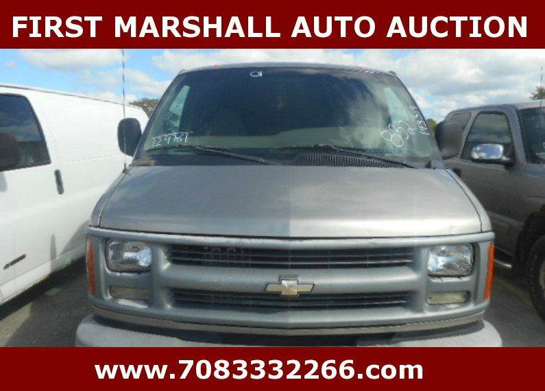 2001 chevrolet express cargo for sale in harvey il. Black Bedroom Furniture Sets. Home Design Ideas