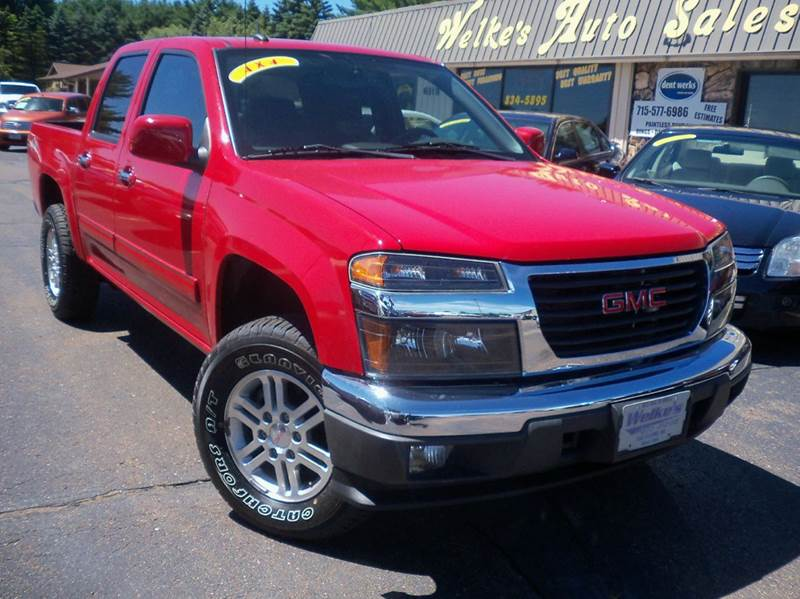 2012 gmc canyon sle 2 4x4 4dr crew cab in eau claire wi welkes 2012 gmc canyon sle 2 4x4 4dr crew cab eau claire wi publicscrutiny Image collections