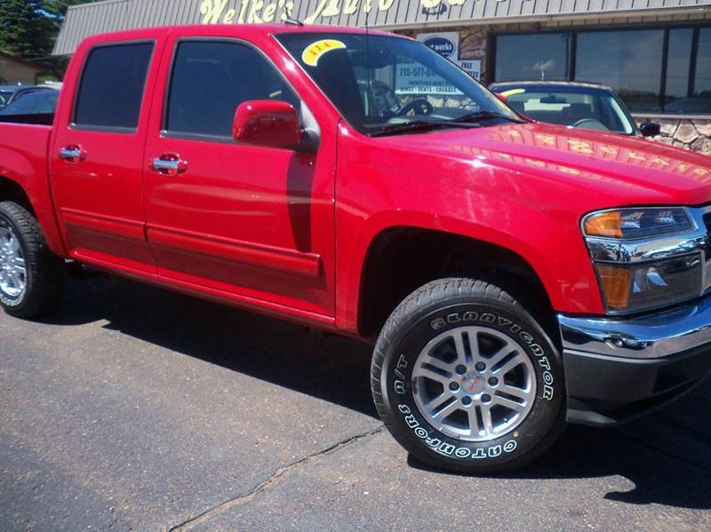 2012 gmc canyon sle 2 4x4 4dr crew cab in eau claire wi welkes contact publicscrutiny Images