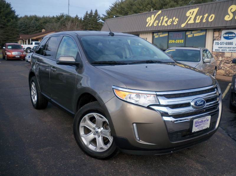 Ford Edge Sel Awd Dr Suv Eau Claire Wi