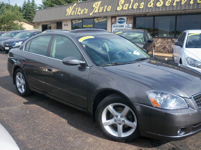 2006 nissan altima 3 5 se r 4dr sedan w automatic in eau. Black Bedroom Furniture Sets. Home Design Ideas