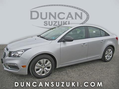 2016 Chevrolet Cruze Limited for sale in Pulaski, VA