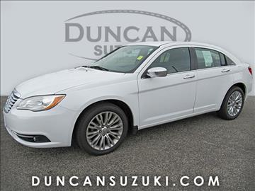 2012 Chrysler 200 for sale in Pulaski, VA