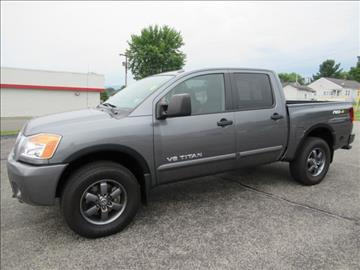 2014 Nissan Titan for sale in Pulaski VA