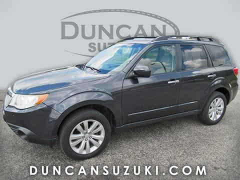 2012 Subaru Forester for sale in Pulaski, VA