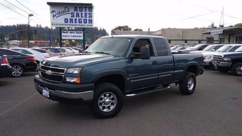 2007 Chevrolet Silverado 2500HD Classic for sale in Eugene, OR