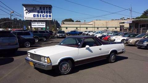 1980 Chevrolet El Camino for sale in Eugene, OR