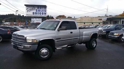 2001 Dodge Ram Pickup 3500 for sale in Eugene, OR