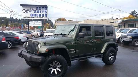 2008 Jeep Wrangler Unlimited for sale in Eugene, OR