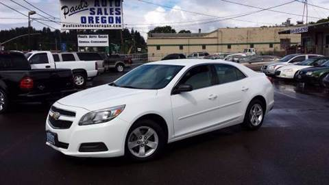2013 Chevrolet Malibu for sale in Eugene, OR