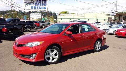 2012 Toyota Camry for sale in Eugene, OR