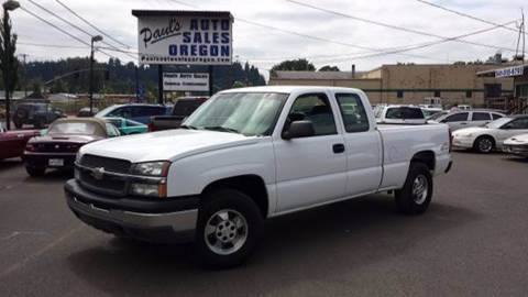 2004 Chevrolet Silverado 1500 for sale in Eugene, OR
