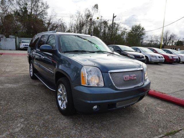 2007 GMC YUKON XL DENALI AWD 4DR SUV stealth gray metallic leather steering wheelpassenger adjus