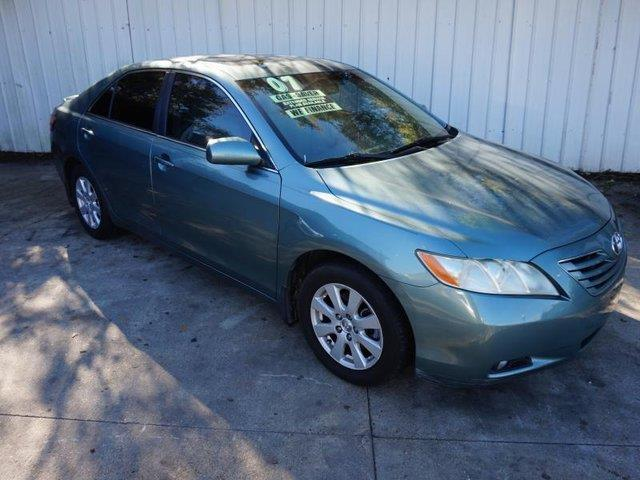 2007 TOYOTA CAMRY XLE V6 4DR SEDAN green cd playerbluetooth connectionpower door locksfront si