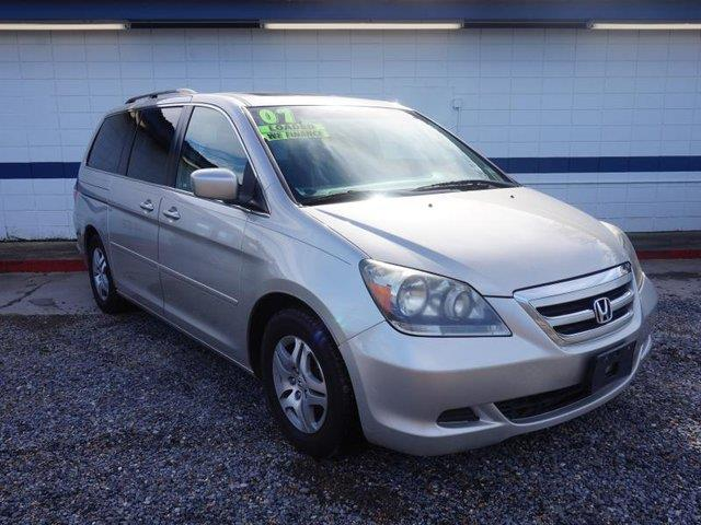 2007 HONDA ODYSSEY EX-L WRES  NAVI silver front side air bagfront head air bagmulti-zone ac