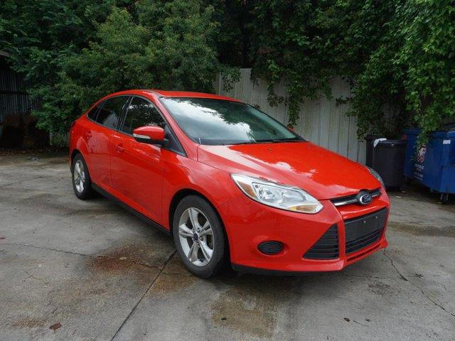 2013 FORD FOCUS SE 4DR SEDAN red rear bench seatflex fuel capabilitybluetooth connectiontrip c