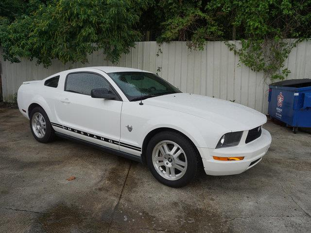 2009 FORD MUSTANG PREMIUM performance white leather seatsfront side air bagcd changercd player