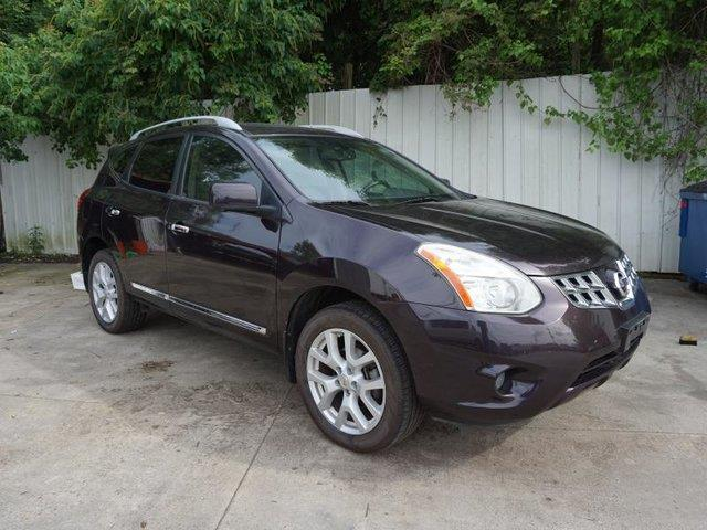 2012 NISSAN ROGUE SL FWD black amethyst driver air bagpassenger air bag onoff switchclimate co