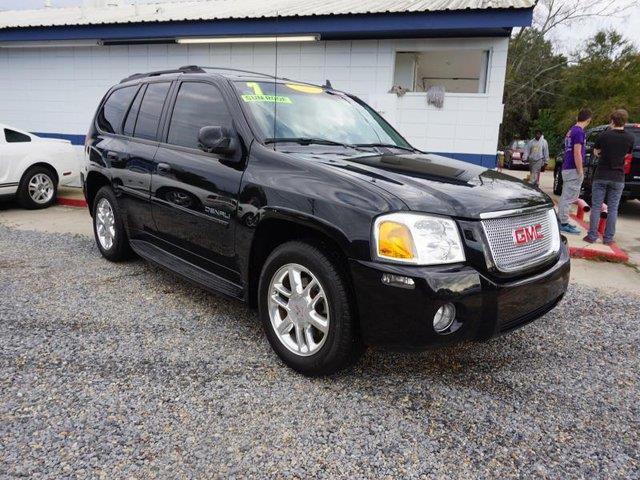 2007 GMC ENVOY DENALI 4DR SUV onyx black telematicstire pressure monitortow hitchadjustable pe