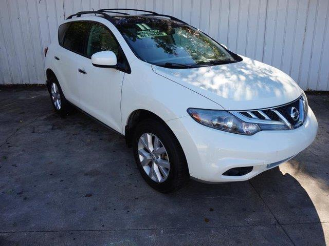 2011 NISSAN MURANO SL AWD 4DR SUV white front side air bagfront head air bagmulti-zone acac
