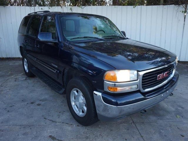 2004 GMC YUKON 1500 4WD SLT blue tow hitchpassenger air bag onoff switchacalarmcruise contr