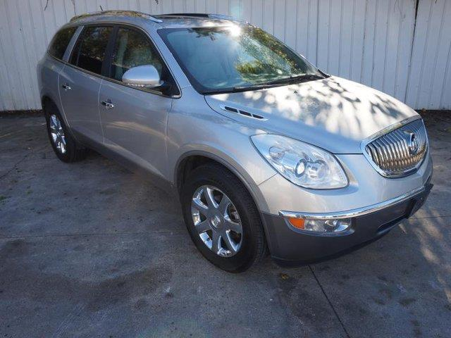 2008 BUICK ENCLAVE CXL 4DR SUV gray front side air bagalarmrear defrostfront wheel drivepower