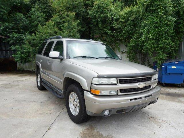 2002 CHEVROLET TAHOE 1500 4WD Z71 light pewter metallic cruise controlalarmrear acacdriver