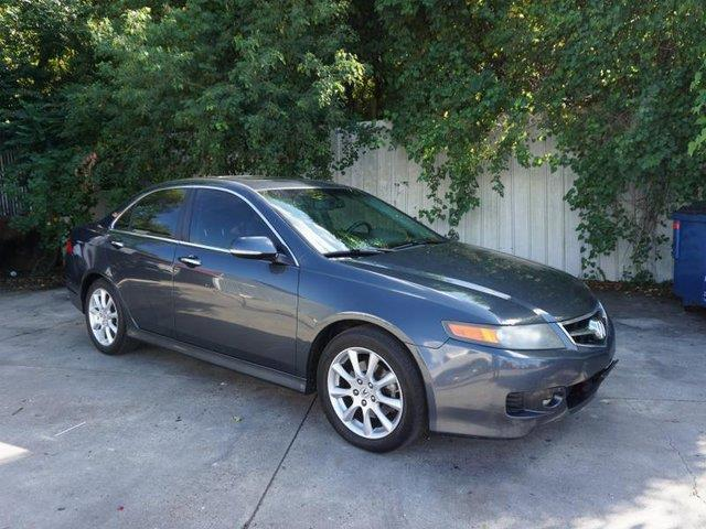 2008 ACURA TSX WNAVI 4DR SEDAN 5A WNAVIGATION blue front head air bagfront side air bagpassen