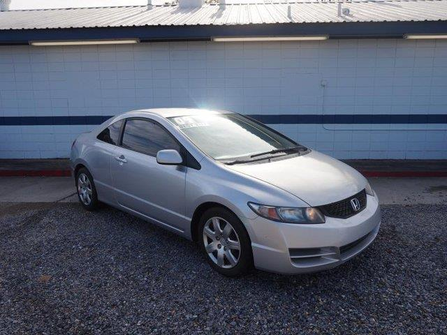 2009 HONDA CIVIC LX 2DR COUPE 5A silver cd player4-wheel absrear defrostdaytime running lights
