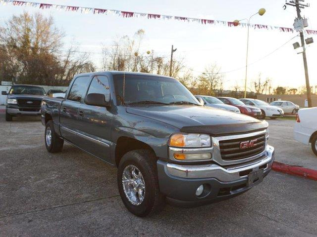 2006 GMC SIERRA 1500 1500 1435 WB 4WD SLE1 stealth gray metallic flex fuel capabilitytrip compu
