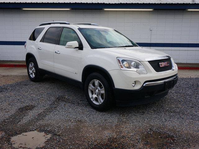 2009 GMC ACADIA SLT-2 4DR SUV white 4-wheel absacauto-dimming rearview mirrorauto-off headlig