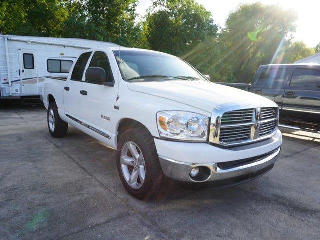 2008 DODGE RAM PICKUP 1500 1500 SLT 2WD 140WB bright white power driver seatbed lineramfm ster