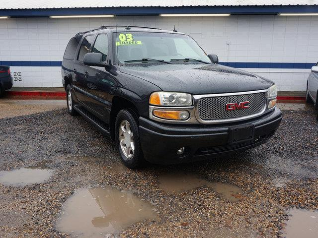 2003 GMC YUKON XL DENALI AWD 4DR SUV carbon metallic keyless entrycd playersatellite radioblue
