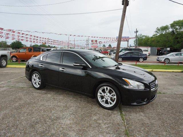2014 NISSAN MAXIMA S 35 super black front head air bagmulti-zone accd changer4-wheel absrea