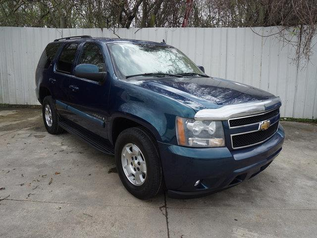 2007 CHEVROLET TAHOE LT 2WD blue power passenger seatrear bucket seatspassenger air bagpasseng