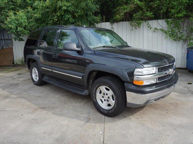 2004 CHEVROLET TAHOE 1500 LS black climate controlleather seatsdriver air bagrear acrear def