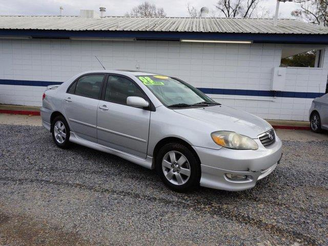 2008 TOYOTA COROLLA S 4DR SEDAN 4A silver vehicle anti-theft systemauxiliary pwr outletfog lamp