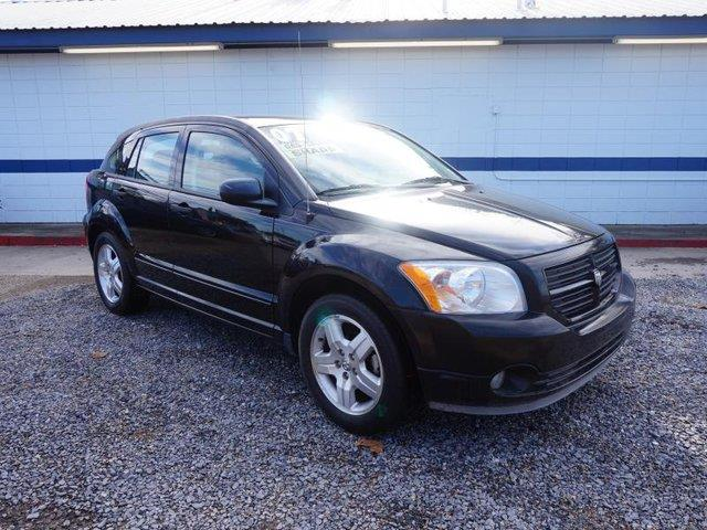 2007 DODGE CALIBER SXT 4DR WAGON black cd changerdriver air bagpassenger air bagrear head air
