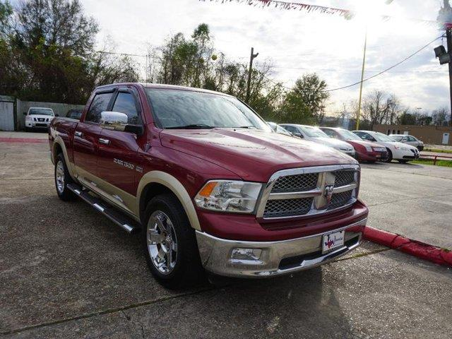 2011 RAM RAM PICKUP 1500 LARAMIE 2WD 140WB deep cherry red crystal pear passenger air bag sensor