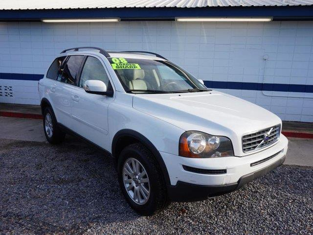 2008 VOLVO XC90 I6 AWD white acrear accruise controlall wheel drive3rd row seatpower drive