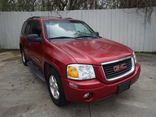 2003 GMC ENVOY 2WD SLE red running boardsside stepsdriver air bagcd playercruise controlkeyl