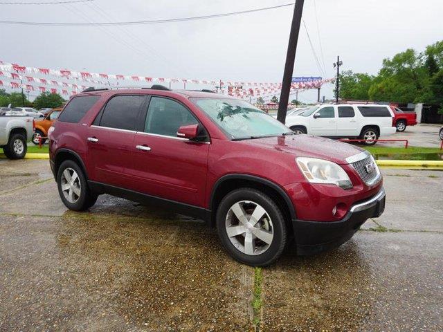 2010 GMC ACADIA SLT 1 4DR SUV red jewel auxiliary audio inputpower liftgatebluetooth connection