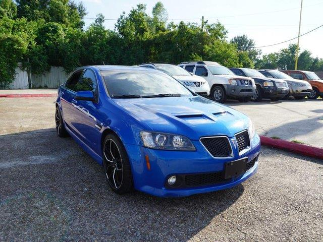 2009 PONTIAC G8 GT 4DR SEDAN stryker blue metallic rear bench seatauxiliary audio inputtire pre