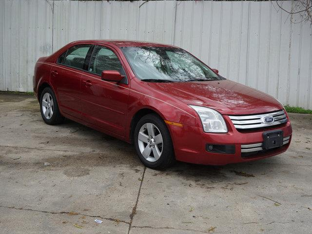 2007 FORD FUSION I-4 SE 4DR SEDAN merlot metallic passenger air bagfront head air bagcd changer