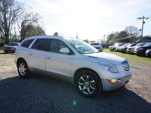 2009 BUICK ENCLAVE CXL 4DR SUV white diamond passenger air bagpassenger air bag onoff switchfr